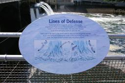 Lines of Defense sign at the Hiram Chittenden Locks and Fish Ladder.jpg