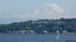 Mount Rainier and Waterfront Apartments